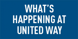 What's happening at United Way